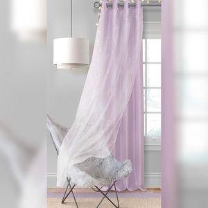 Elrene Home Fashions Aurora Panel w/ Overlay